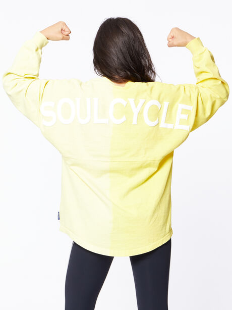 Exclusive Vertical Fade Dip Dye Spirit Jersey Yellow, Yellow, large image number 4