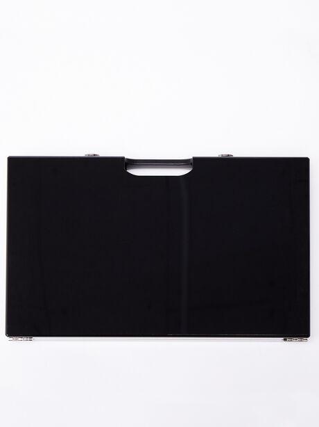 Exclusive Backgammon Set, Black/Yellow, large image number 3