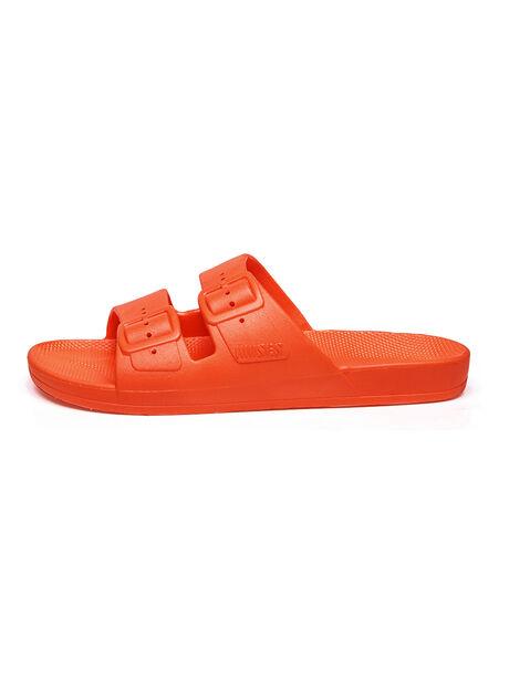 Moses Two Band Slides Vitamin C Orange, Orange, large image number 1