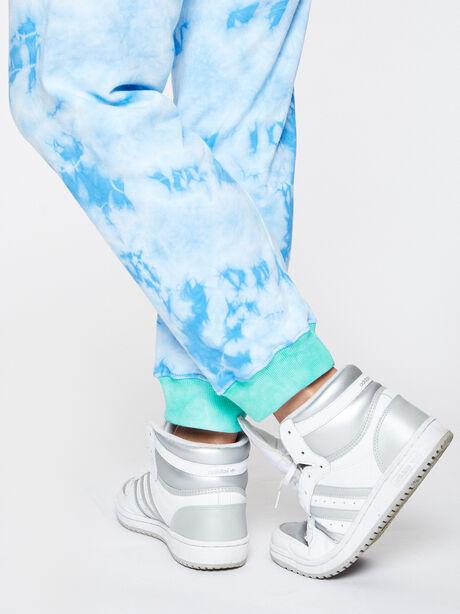 Aloha Tie-Dye Sweatpant Blue, Blue Tied, large image number 2