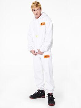 Kingsley Hoodie White, White, large
