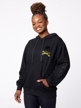 LA Kingsley Hoodie Black, Black, large