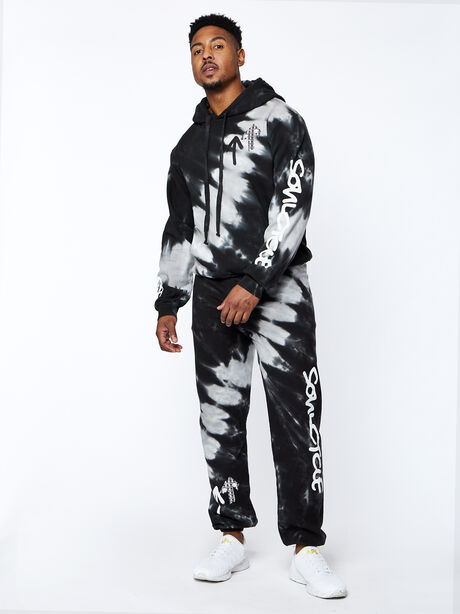 All Studio Sweatpants, Tie Dye/Black, large image number 3