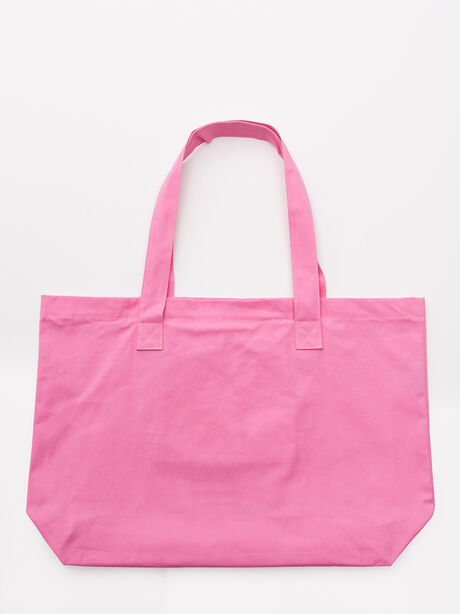 Raise Your Vibration Tote Bag Pink, Pink, large image number 2