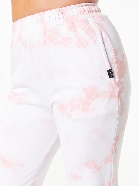 Sunday Sweat Jogger Rose Cloud, White/Pink, large image number 2