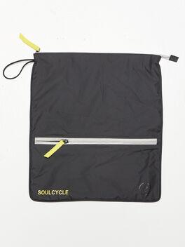 Double Pocket Sweatbag, Black, large