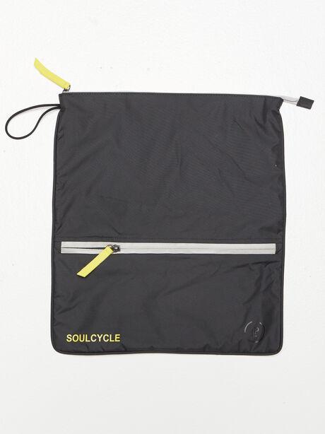 Double Pocket Sweatbag, Black, large image number 1