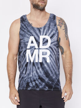 Tie Dye Call Letter Tank, , large