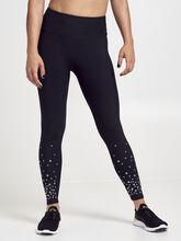 Scatter Grommet Leggings, Black, large