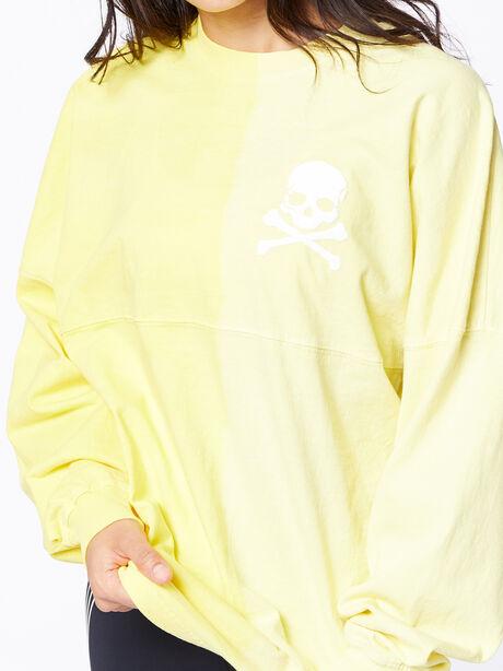 Exclusive Vertical Fade Dip Dye Spirit Jersey Yellow, Yellow, large image number 2