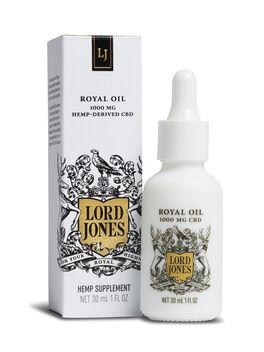 Royal Oil 1000 Mg Hemp-Derived CBD, White, large