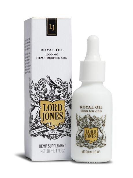 Royal Oil 1000 Mg Hemp-Derived CBD, White, large image number 0
