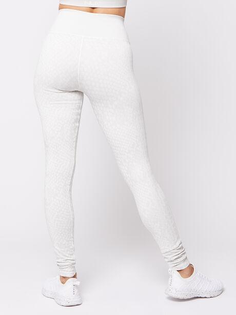 White Animal Legging, White, large image number 2