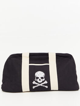 Texas Duffle Bag Black, Black, large
