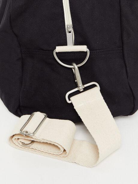 Texas Duffle Bag Black, Black, large image number 4