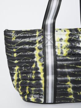Exclusive Wingman Tie-Dye Tote, Tie Dye/Black, large