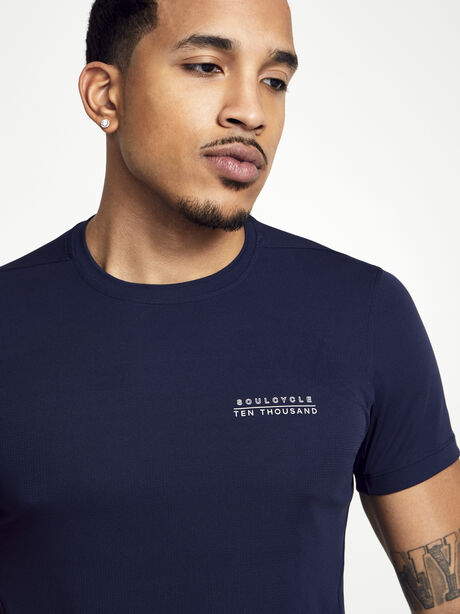 Navy Distance Tee, Navy, large image number 0