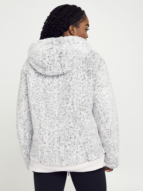Sherpa Full Zip, Light Chrome/Heathered White, large image number 5
