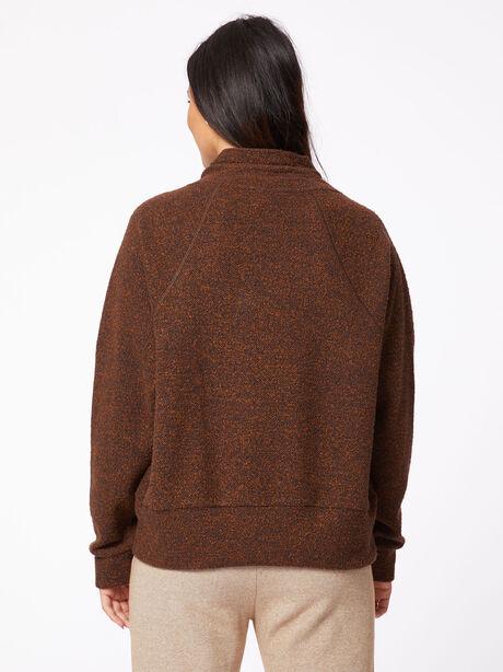 Maceo Sweatshirt Warm Granite Brown, Granite, large image number 2