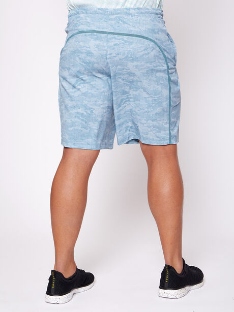 """Pacebreaker Shorts 9"""" Lined, Cross Hatch Camo Beachcomber M, large image number 1"""