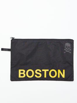 Boston Reusable Sweat Bag, Black, large