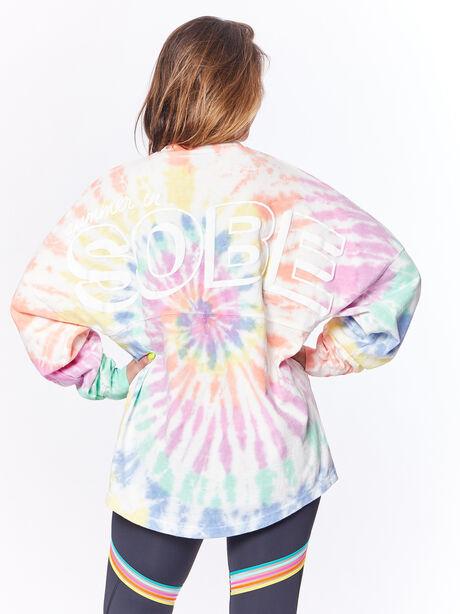Pride Tie-Dye Spirit Jersey Sobe, Multi Color, large image number 0
