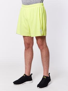 "Surge Short 6"" Lined, Solar Yellow, large"