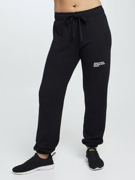 Mantra Super Slouch Sweatpants, Black, large