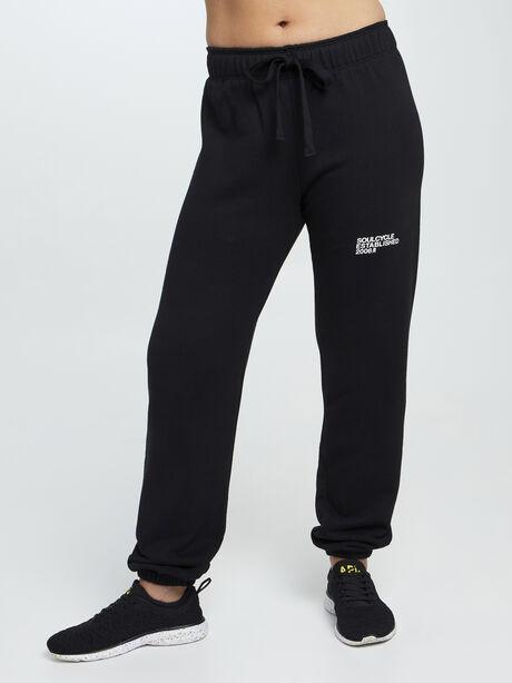 Mantra Super Slouch Sweatpants, Black, large image number 0