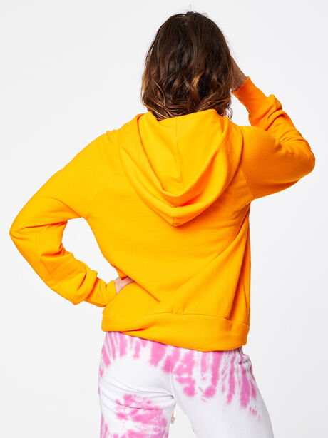 Boyfriend Sun Hoodie Orange, Orange, large image number 3
