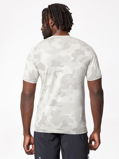 Metal Vent Tech Shirt Geo Camo, Carbon Dust/Muslin/Black, large image number 2