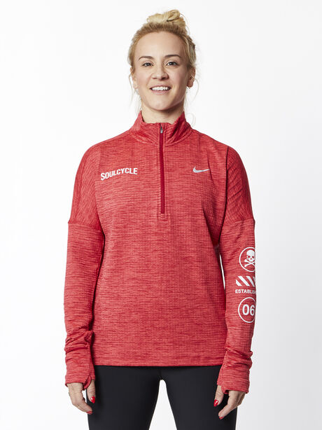 Therma Sphere Element Half Zip, Tough Red/Htr/Lt Fusion Red, large image number 0