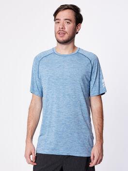 Metal Vent Surge Short Sleeve, Pewter Blue, large