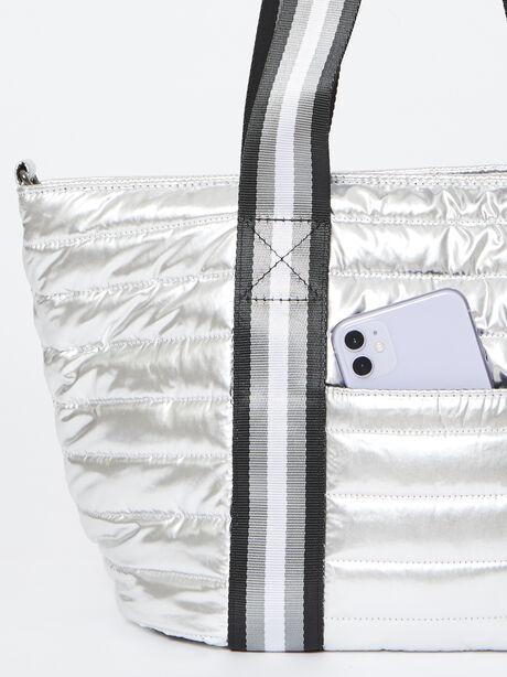 Junior Wingman Bag-Silver Foil, Silver, large image number 2