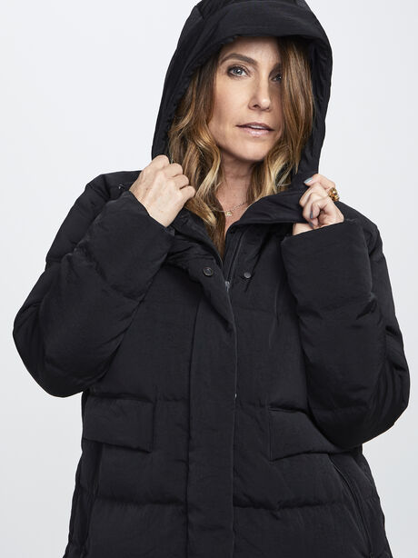 In a Flurry Parka, Black, large image number 1