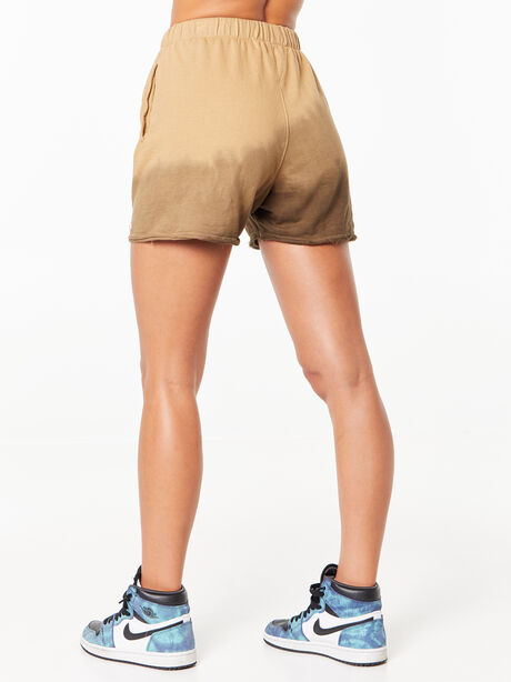 Zee Sweat Short Green Wash, Fatigue Green, large image number 2