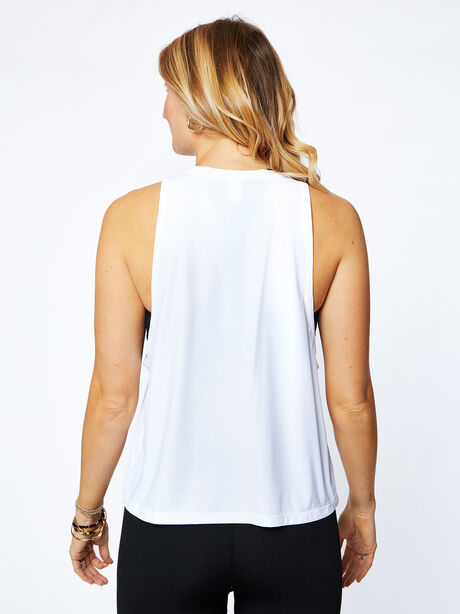Lafayette Muscle Tank, White, large image number 3
