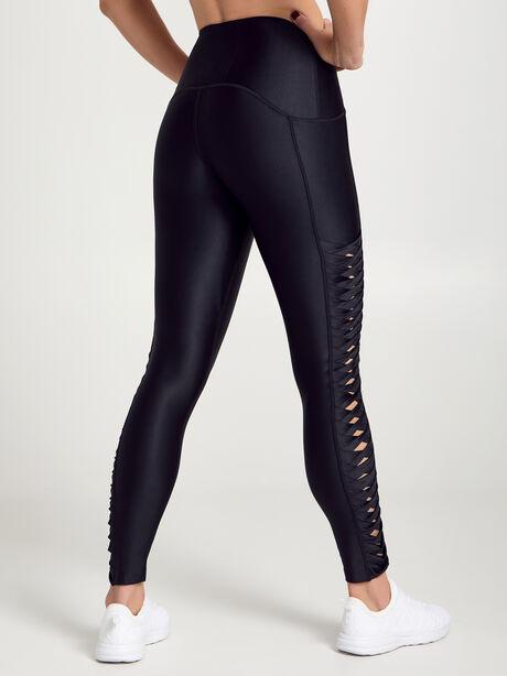 Speed Twist Leggings 7/8, Black, large image number 3
