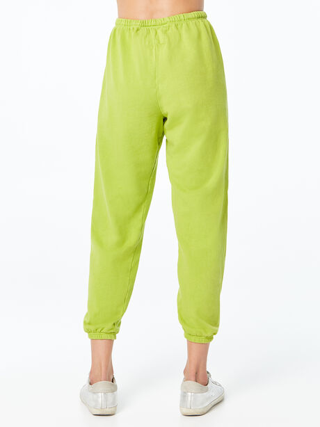 Large Sweatpant Hoppers Green, Green, large image number 2