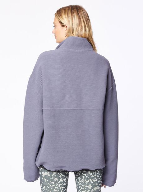 Harding Half-Zip Pullover Deepest Slate, Dark Slate, large image number 2
