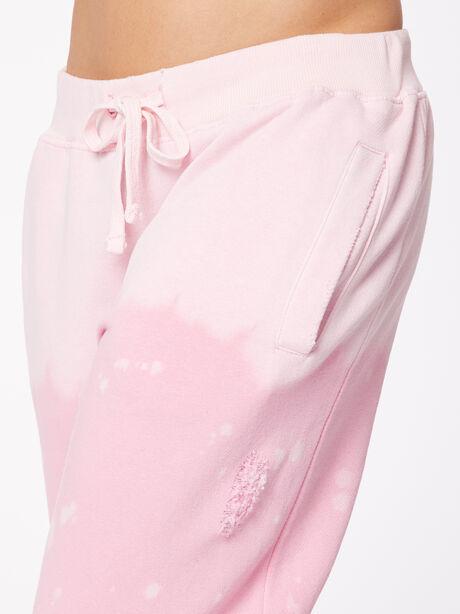 Acid Wash BHH Sweatpant Pink, Pink, large image number 1