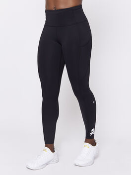 """Black Fast And Free Tight 25"""", Black, large"""