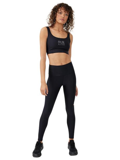 Dynamic Sports Bra Black, Black, large image number 3
