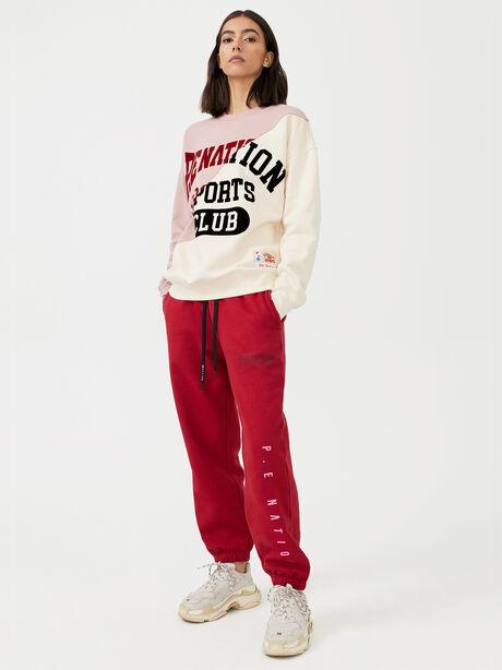 Inning Sweatshirt Misty Rose, White/Pink, large image number 3