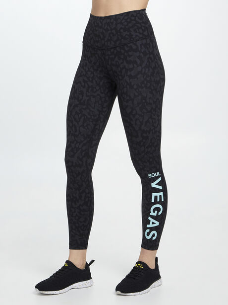 """Formation Camo Align HR Pant 25"""" VEGAS, Formation Camo Deep Coal Multi, large image number 0"""