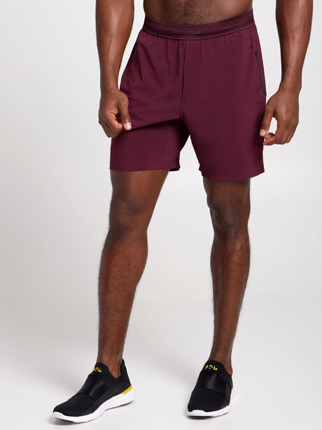 """Session Lined Shorts 7"""", Maroon, large image number 0"""