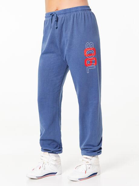 Charlie Sweatpant Blue, Vintage Navy, large image number 0