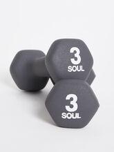 3 lb Weight Set, Grey, large