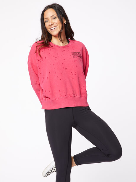 Mattie Sweatshirt Love Potion Pink, Red, large image number 0