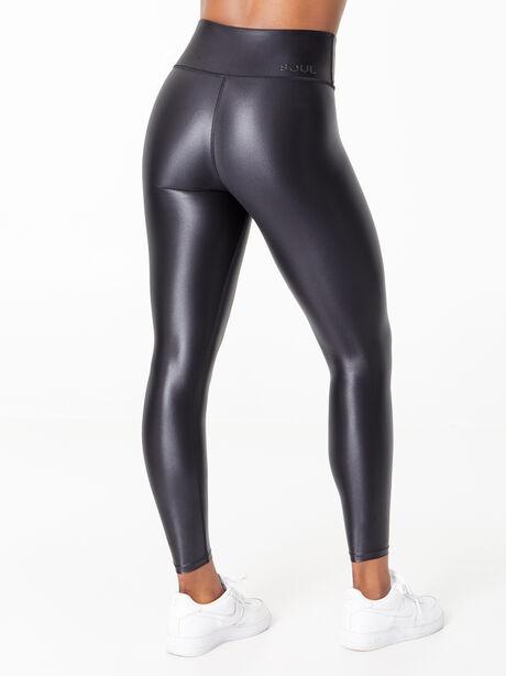Podium Cire Legging Black, Black, large image number 2